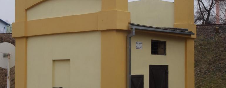Distribuční transformátorová stanice - Skalní ul. - Kadaň