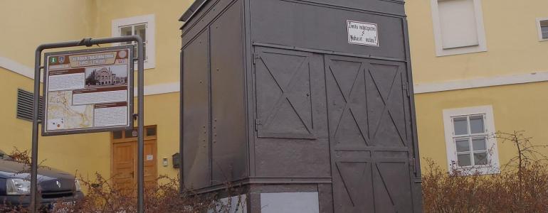 Distribuční transformátorová stanice - Jiráskova ul. -  Kadaň