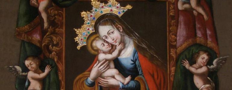 Poutní kostel Navštívení Panny Marie - Skoky