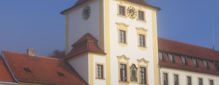 Areál radnice Jílové u Prahy