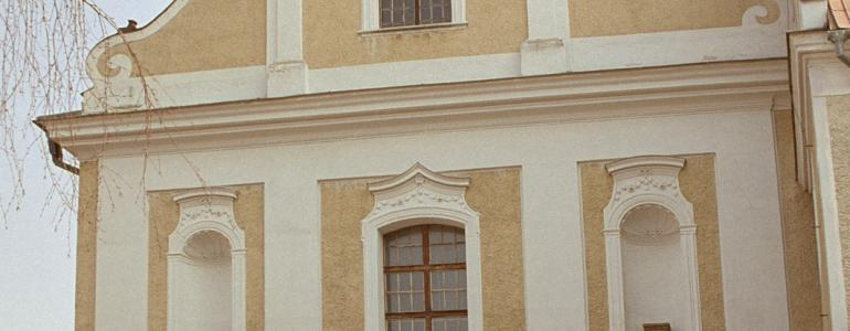 Kostel Povýšení sv. Kříže a expozice k dějinám řádu minoritů - Uničov