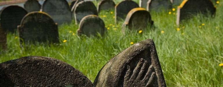 Židovský hřbitov - Spálené Poříčí