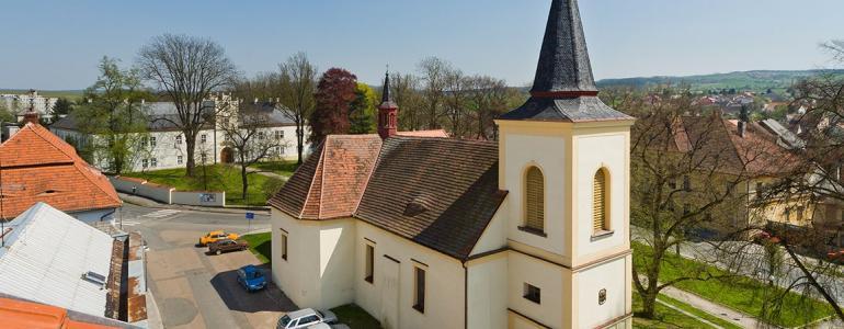Kostel sv. Mikuláše - Spálené Poříčí