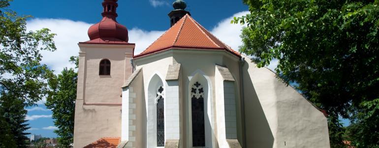 Kostel sv. Martina - Třešť