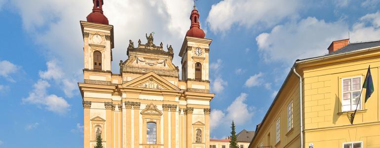 Chrám Zvěstování Panny Marie - Šternberk