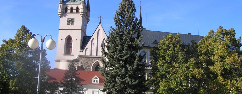 Vyhlídková věž kostela sv. Mikuláše - Humpolec
