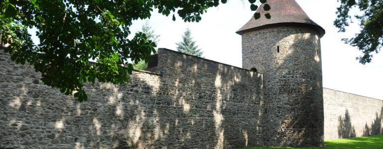 Gotické opevnění města - Polička
