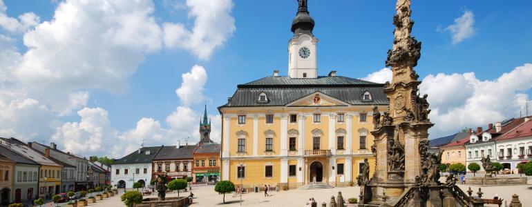Barokní radnice - Polička