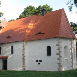 Kostel sv. Ambrože ve Vícově u Přeštic