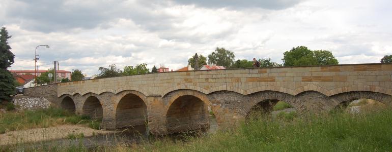 Svatojánský most - Litovel