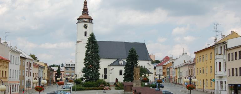 Vyhlídková věž kostela sv. Mikuláše - Bílovec