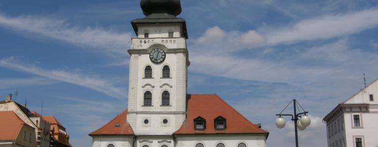 Městská radnice - vyhlídková věž - Žatec