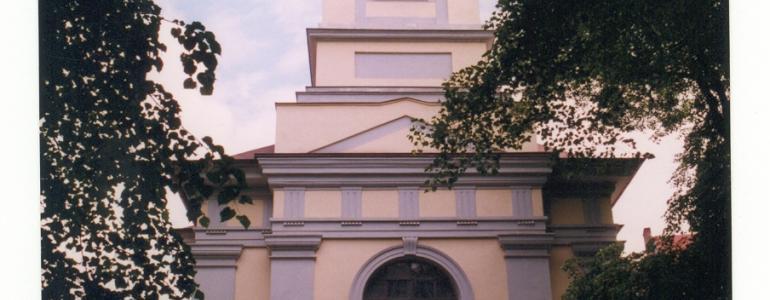 Kostel Nejsvětější Trojice na Malostranském hřbitově