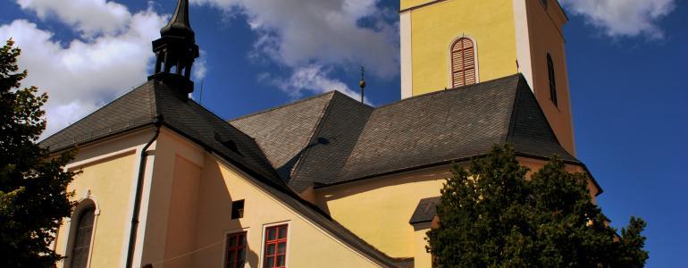 Kostel sv. Jana Křtitele - Šumperk