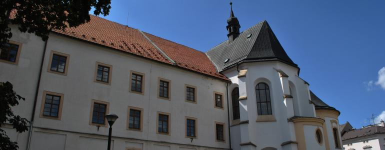 Bývalý klášter řádu Bratří kazatelů - Šumperk