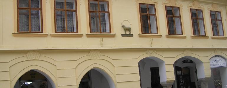 Dům U Beránka - městský dům