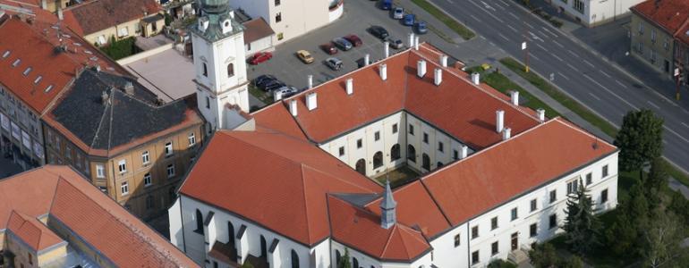 Bývalý františkánský klášter - Uherské Hradiště
