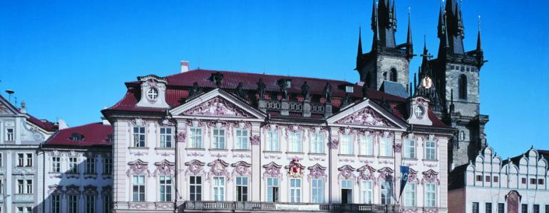 Palác Kinských - Národní galerie v Praze