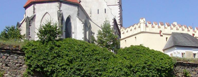 Kostel sv. Jakuba Většího - Prachatice