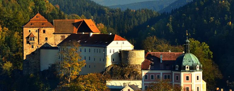 Bečov nad Teplou - státní hrad a zámek