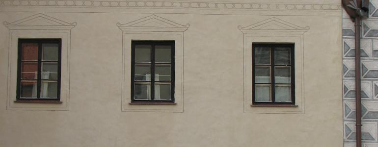 Měšťanský dům čp. 465 - Slavonice