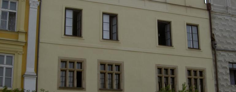 Renesanční dům čp. 480 - Slavonice