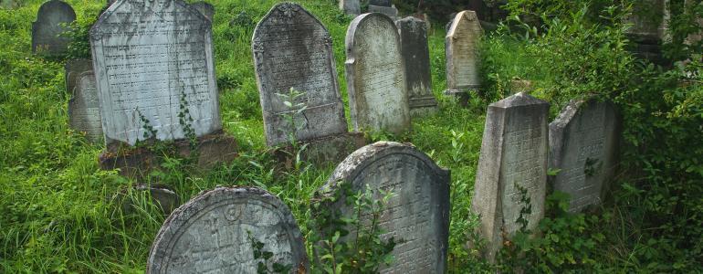 Židovský hřbitov - Lomnice