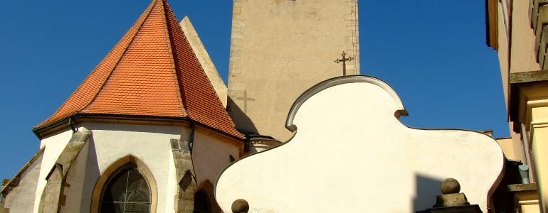Kostel sv. Jakuba - Telč