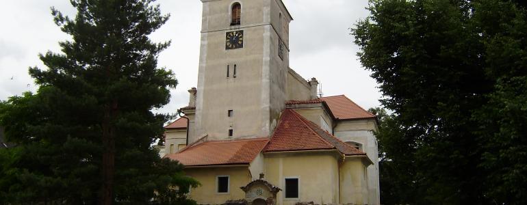 Kostel sv. Vavřince - Církvice