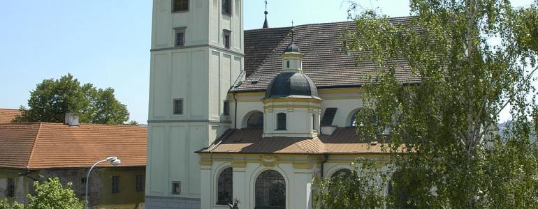 Klášterní kostel sv. Františka Serafinského - Lipník nad Bečvou