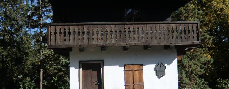 Domeček (Msgre) F. B. Vaňka v Děkanské zahradě - Pelhřimov