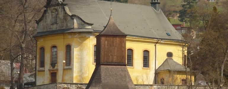 Kostel sv. Jakuba Většího - Železný Brod