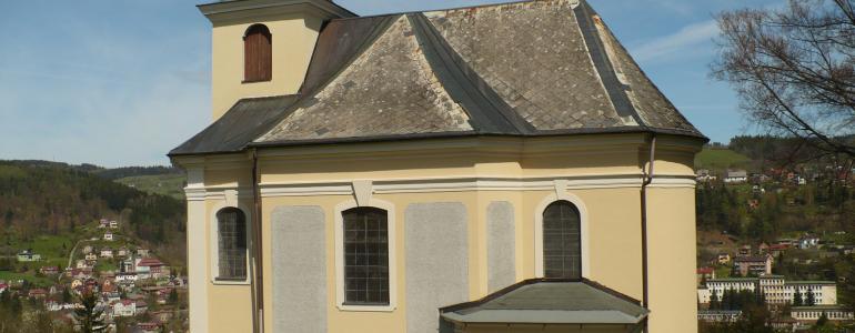 Kostel sv. Jana Nepomuckého - Železný Brod
