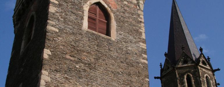 Areál chrámu sv. Bartoloměje - zvonice
