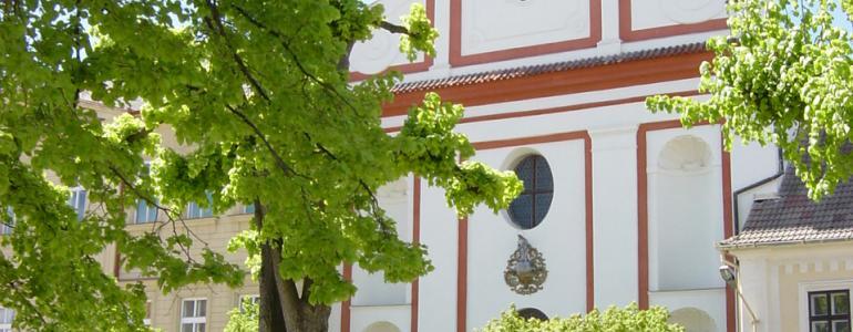 Augustiniánský klášter a kostel Narození Panny Marie - Tábor