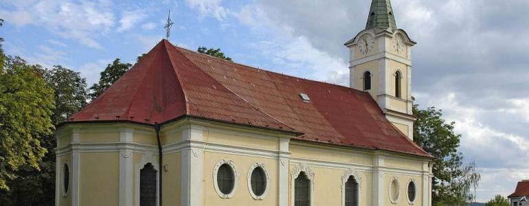 Hřbitovní kostel Zvěstování Panny Marie - Beroun