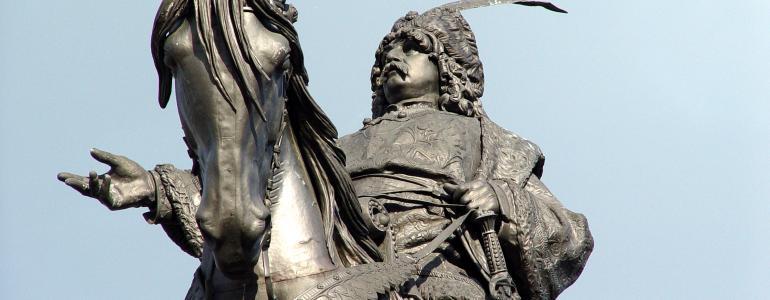 Jezdecká socha krále Jiřího