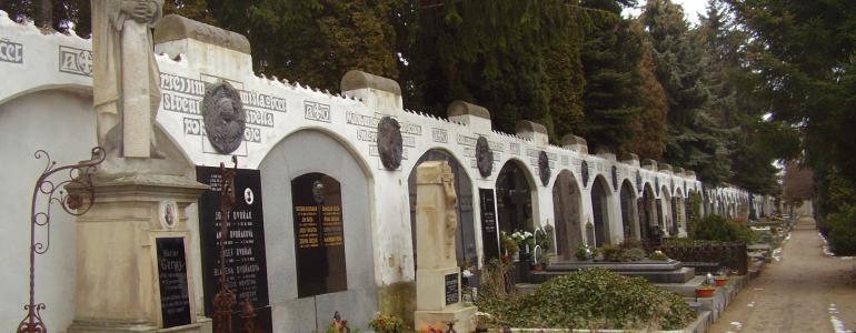 Hřbitov v Kluku - Poděbrady