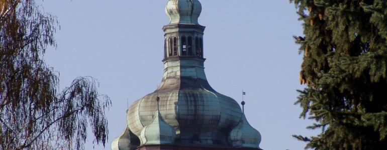 Věž proboštského chrámu sv. Petra a Pavla - Mělník
