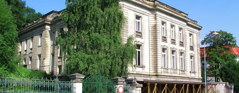 Palácová vila Franze Petschka - Ústí nad Labem