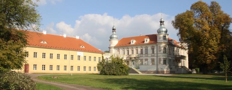 Zámek Krásné Březno - sídlo ÚOP NPÚ v Ústí nad Labem
