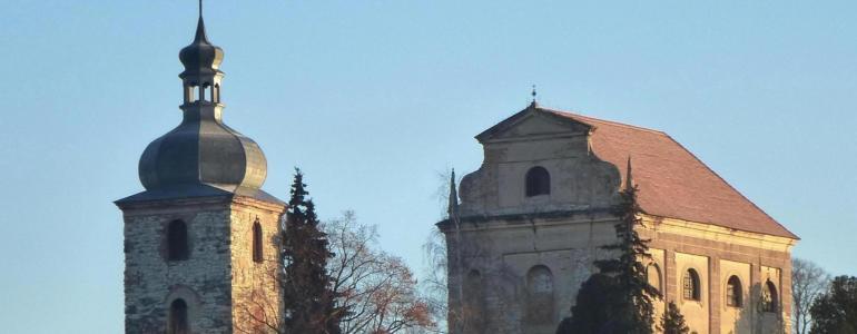 Kostel Nejsvětější Trojice v Zahořanech -  Křešice