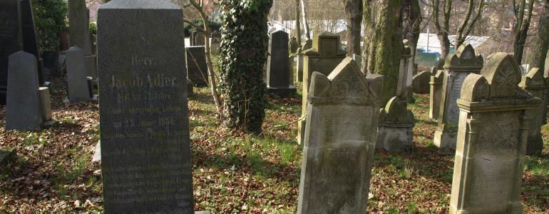 Židovský hřbitov a ulička K.H. Borovského - Tachov