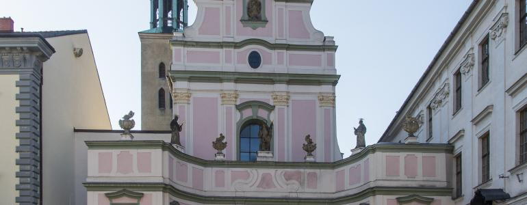 Kostel sv. Ducha - Opava