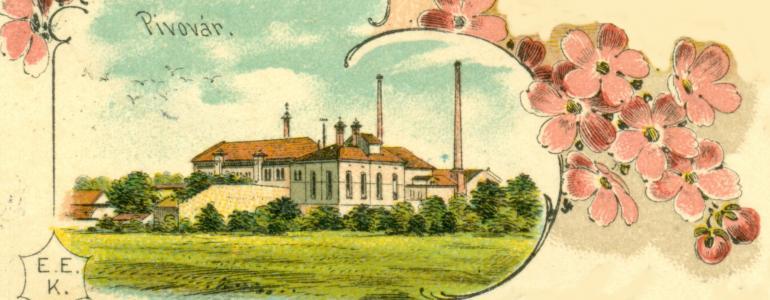 Bývalý pivovar v Kladně-Kročehlavech