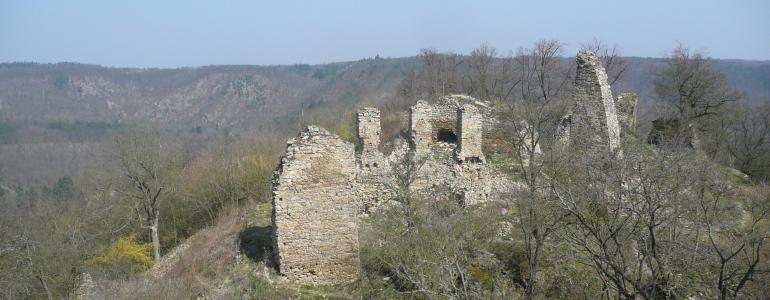 Hrad Templštejn, zřícenina - Jamolice