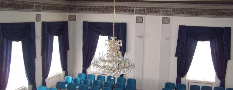 Navrátilův sál Nový Bor