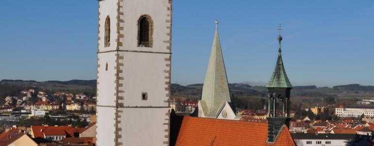 Děkanský kostel Narození Panny Marie - Písek