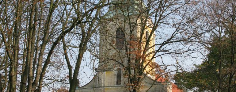 Kostel sv. Jana Křtitele - Slaný