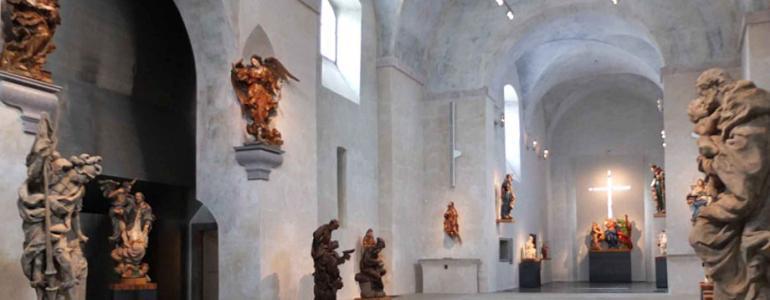 Kapucínský kostel sv. Josefa - Muzeum barokních soch